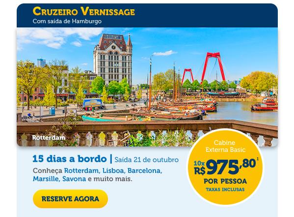 Cruzeiro Vernissage,  com saída de Hamburgo