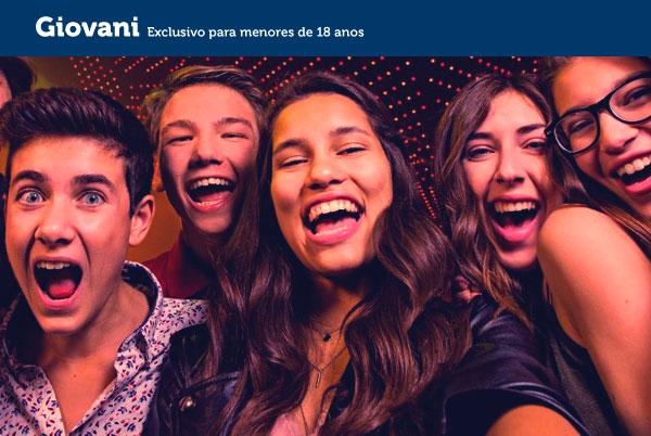 Giovani - Exclusivo para menores de 18 anos